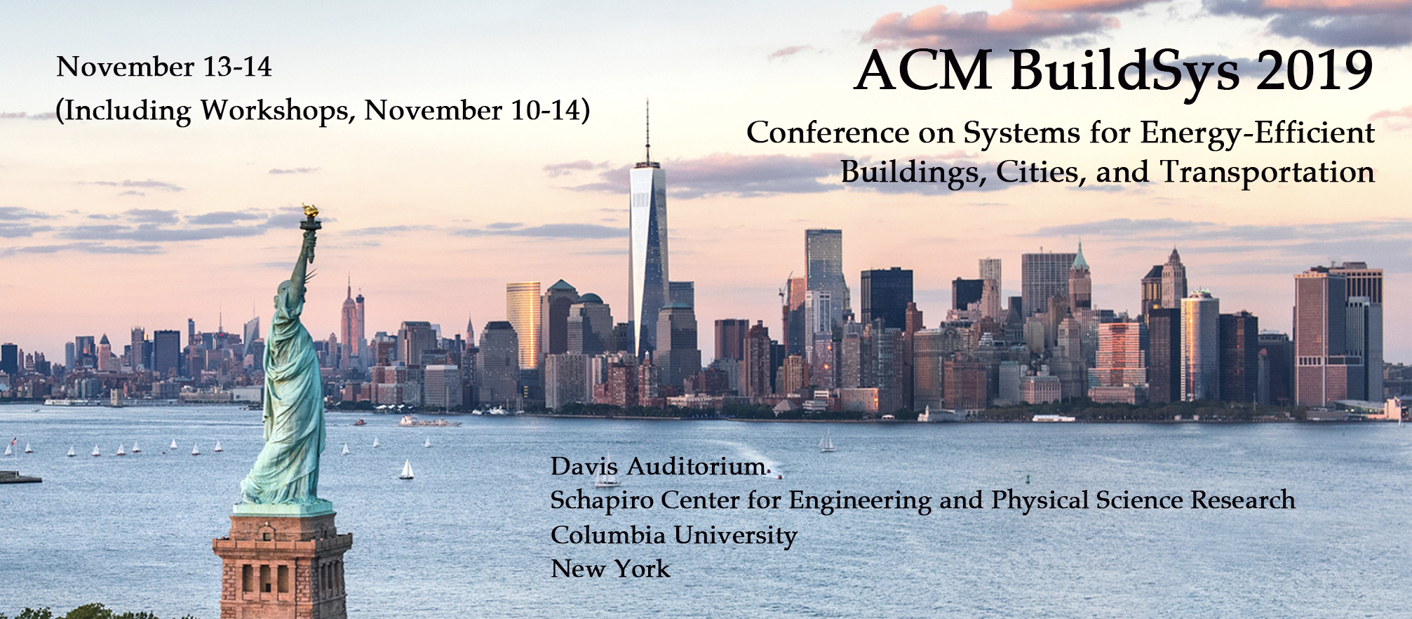 d5730882d The 6th ACM International Conference on Systems for Energy-Efficient  Buildings, Cities, and Transportation (BuildSys 2019) will host a highly  selective, ...